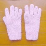 もこもこ手袋(ピンク)