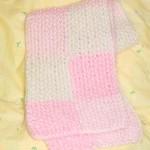 かのこ編みマフラー