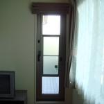 シェード(薄茶、バルコニー用ドア) その3